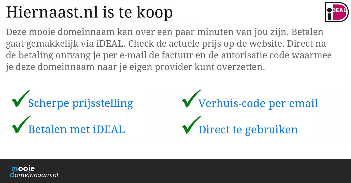 (c) Hiernaast.nl